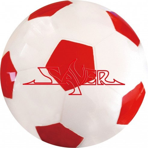 Saver Urethane Clear Soccer Red 15#