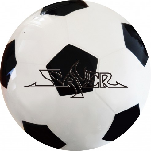 SAVER CLEAR SOCCER (BLACK)