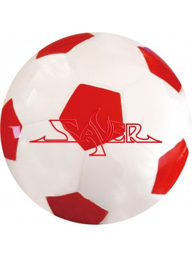 SAVER URETHANE CLEAR SOCCER (RED)